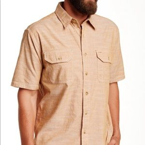 Tan Pendleton Warren Button Down